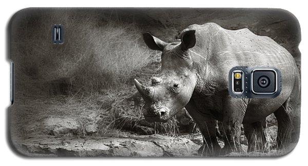 White Rhinoceros Galaxy S5 Case