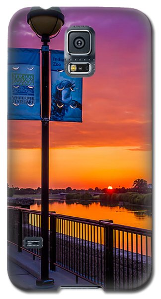 White River Sunset Galaxy S5 Case