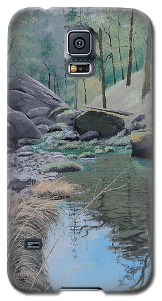 White Rock Creek Galaxy S5 Case