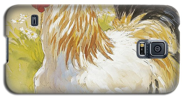 White Rooster Galaxy S5 Case by Tracie Thompson