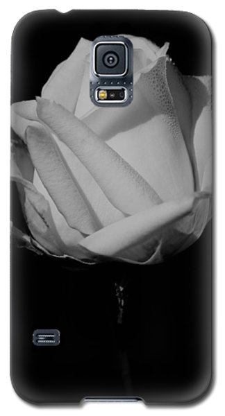 Galaxy S5 Case featuring the photograph White Rose by Michelle Joseph-Long
