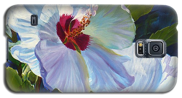 White Rose Of Sharon Galaxy S5 Case