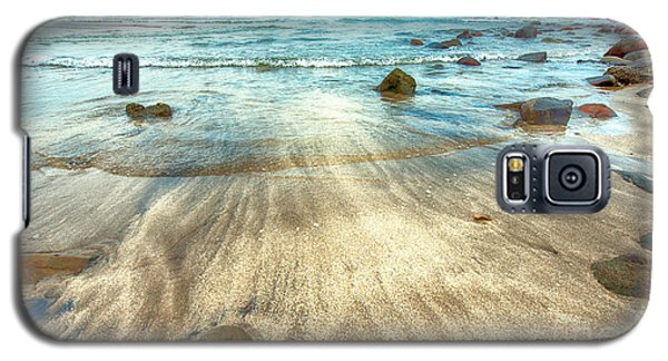 White Sand Beach Galaxy S5 Case