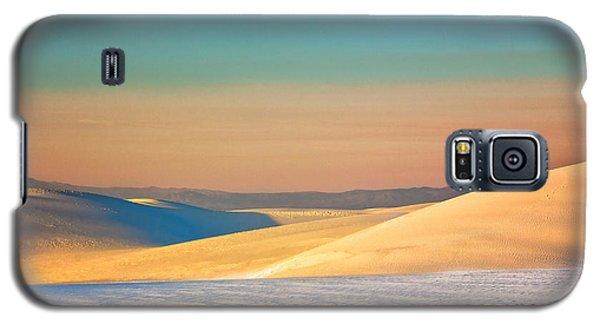 White Sands Sunset Galaxy S5 Case