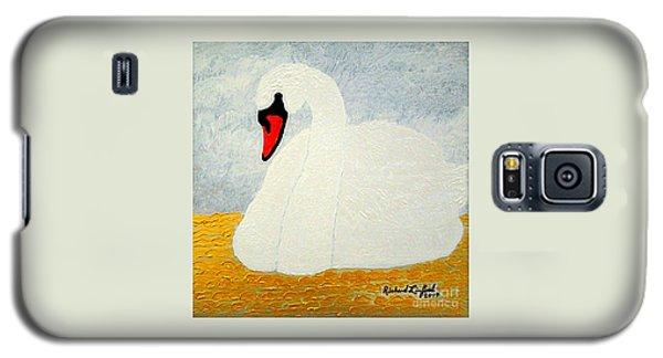 White Swan Lake Galaxy S5 Case