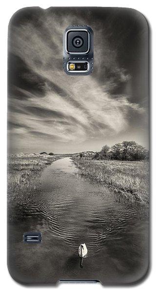 White Swan Galaxy S5 Case
