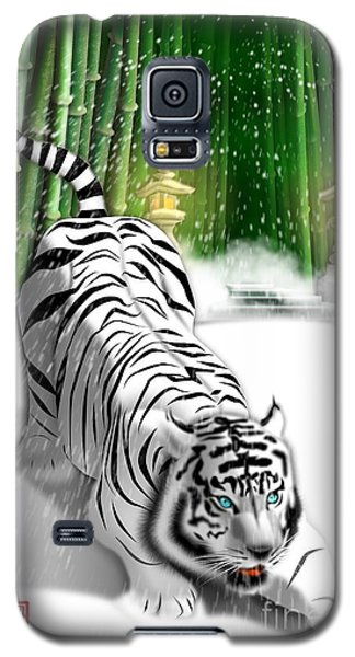 White Tiger Guardian Galaxy S5 Case
