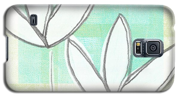 Tulip Galaxy S5 Case - White Tulips by Linda Woods