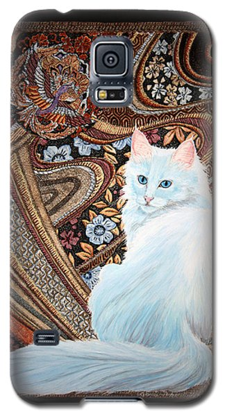 White Turkish Angora Galaxy S5 Case