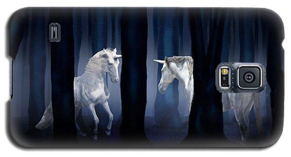 White Unicorns Galaxy S5 Case