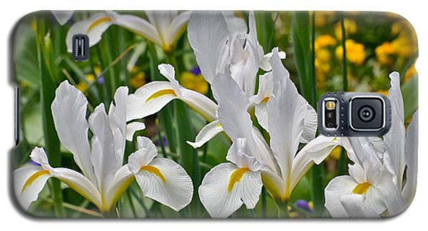 White Van Vliet Iris Galaxy S5 Case by Eve Spring