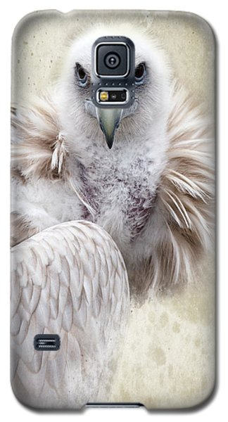 White Vulture  Galaxy S5 Case by Barbara Orenya
