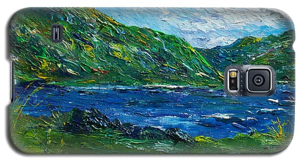 White Water In Kenmare  Kerry Galaxy S5 Case