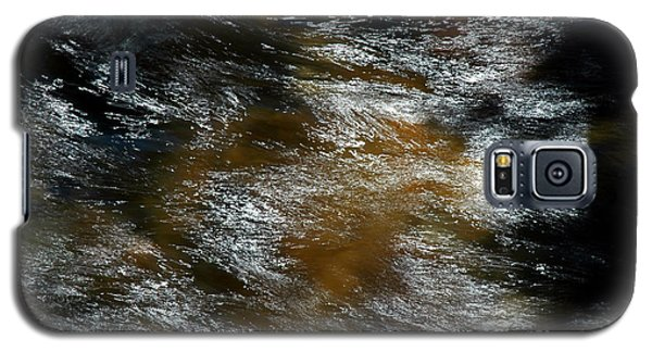 Galaxy S5 Case featuring the photograph White Water Pisgah Forest by Allen Carroll