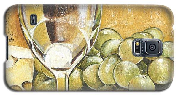 White Wine And Cheese Galaxy S5 Case by Debbie DeWitt
