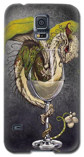 White Wine Dragon Galaxy S5 Case
