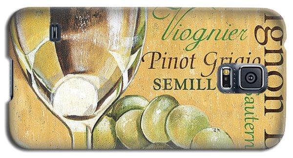 White Wine Text Galaxy S5 Case by Debbie DeWitt