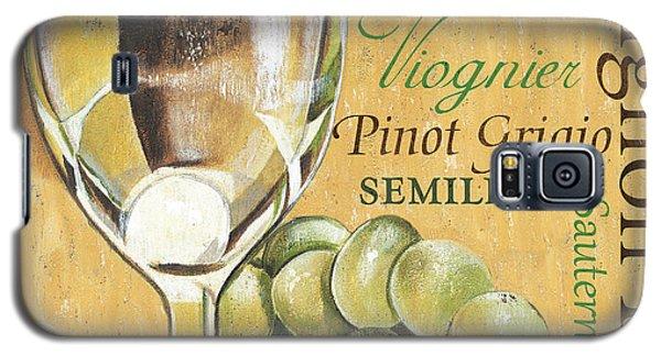 Galaxy S5 Case - White Wine Text by Debbie DeWitt