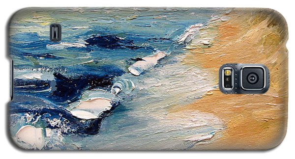 Whitecaps On Lake Michigan 3.0 Galaxy S5 Case