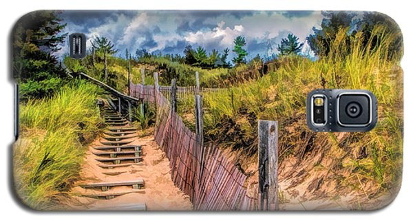 Whitefish Dunes State Park Stairs Galaxy S5 Case