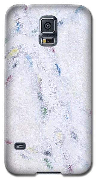 Galaxy S5 Case featuring the painting Whiteout by Cindy Lee Longhini