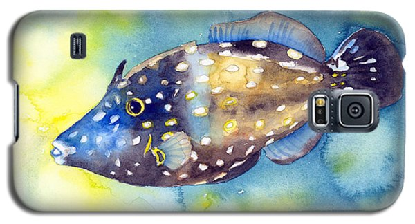 Whitespot Filefish Galaxy S5 Case