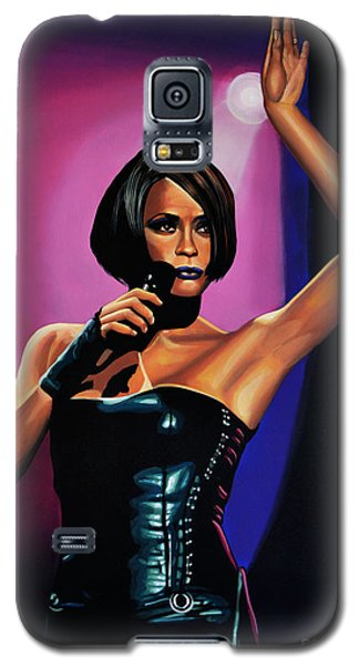 Whitney Houston On Stage Galaxy S5 Case
