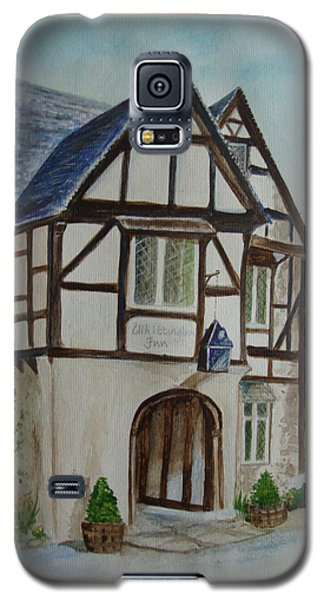 Whittington Inn - Painting Galaxy S5 Case by Veronica Rickard