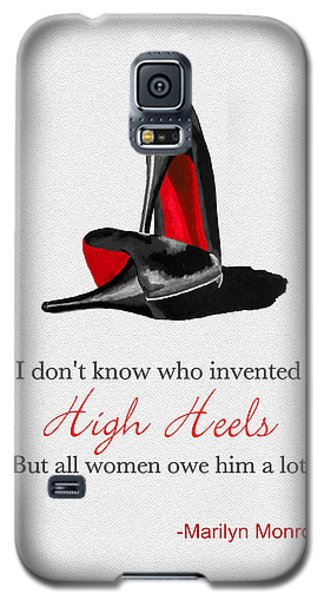 Who Invented High Heels? Galaxy S5 Case