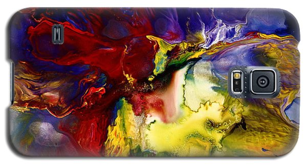 Who Knows Modern Abstract Art Galaxy S5 Case