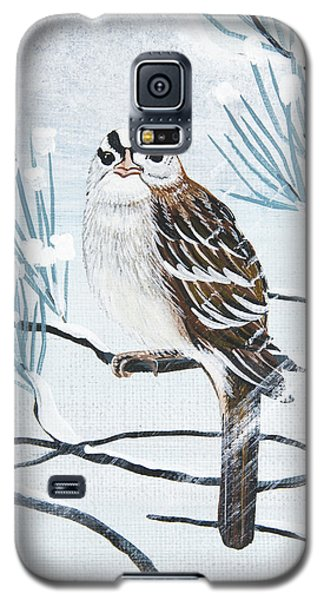 Galaxy S5 Case featuring the painting Who Me by Jennifer Lake