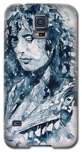 Whole Lotta Love Jimmy Page Galaxy S5 Case by Paul Lovering