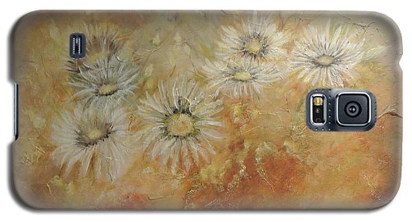 Galaxy S5 Case featuring the painting Whoopsy Daisies by Tamara Bettencourt