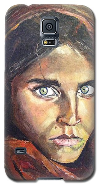Who's That Girl? Galaxy S5 Case by Belinda Low