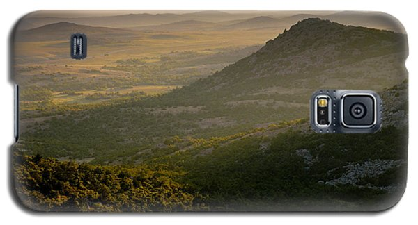 Wichita Mountains At Sunset Galaxy S5 Case by Iris Greenwell