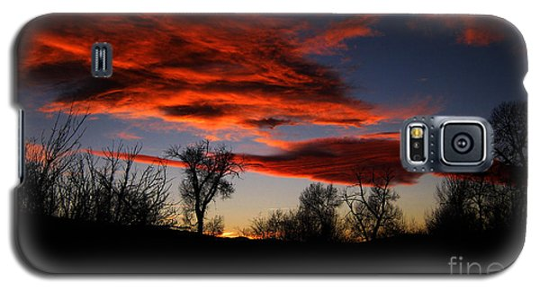 Galaxy S5 Case featuring the photograph Wicked Skies by Janice Westerberg