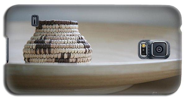 Wicker On Wood Galaxy S5 Case by Lynn England