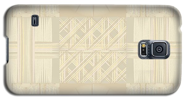 Wicker Quilt Galaxy S5 Case