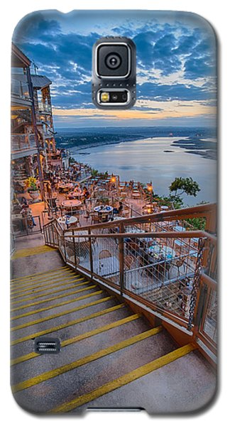 Wide Angle View Of The Oasis And Lake Travis - Austin Texas Galaxy S5 Case