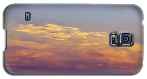 Wide Sunset Panorama Galaxy S5 Case