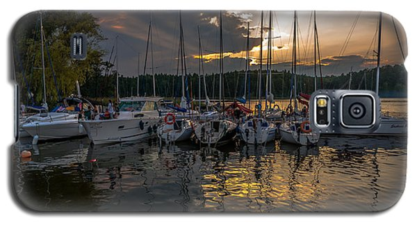 Wierzba Yacht Marina In The Afternoon Galaxy S5 Case