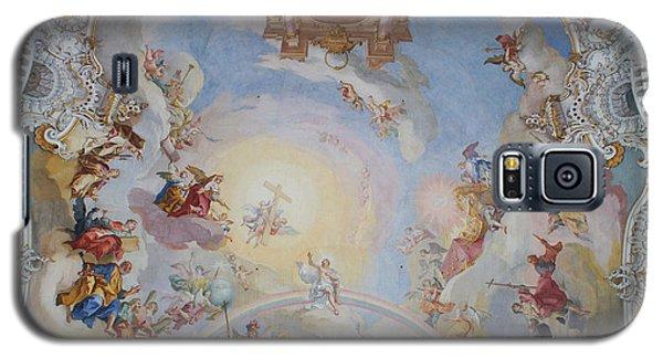 Wies Pilgrimage Church Bavaria Fresko Galaxy S5 Case by Rudi Prott