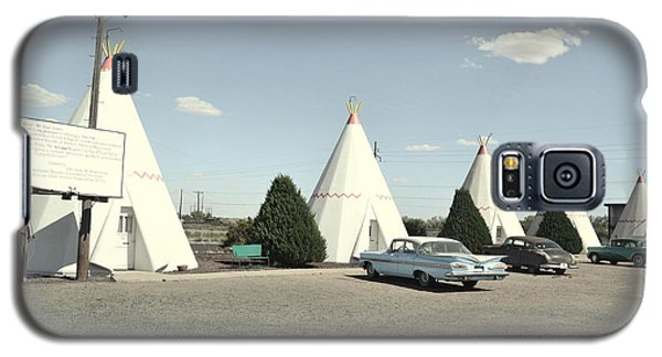 Galaxy S5 Case featuring the photograph Wigwams In Arizona by Utopia Concepts