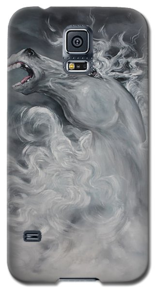 Galaxy S5 Case featuring the painting Wild And Free by Jean Walker