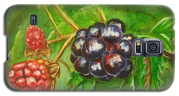 Wild Blackberries Galaxy S5 Case