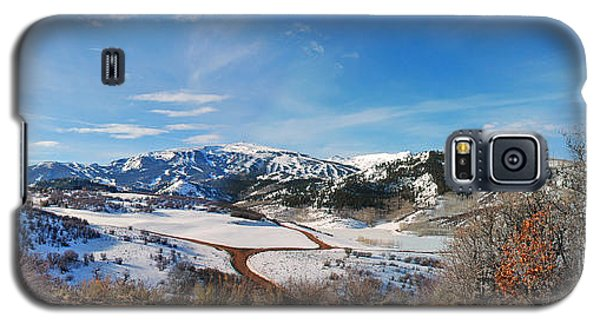 Galaxy S5 Case featuring the photograph Wild Cat Ranch - Snowmass by Allen Carroll