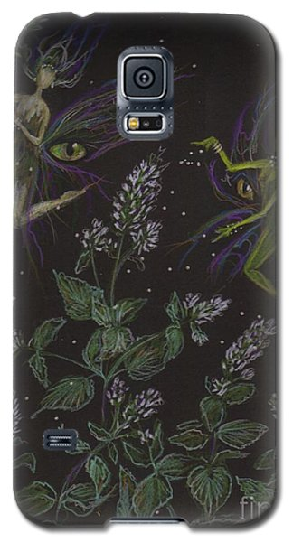 Wild Catnip Galaxy S5 Case by Dawn Fairies