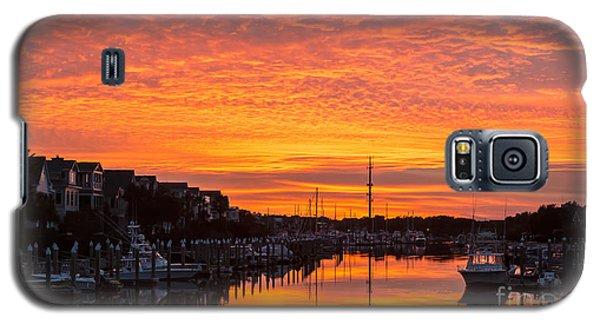 Wild Dunes Sunset Isle Of Palms Galaxy S5 Case