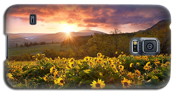 Wild Flower Delight Galaxy S5 Case