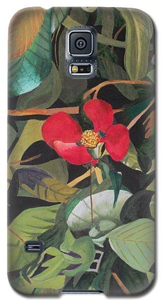 Wild Flower Galaxy S5 Case
